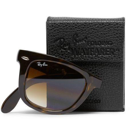 Gafas de sol Ray-Ban Wayfarer plegables - Un tipo con clase. Moda hombre, estilo y todo eso