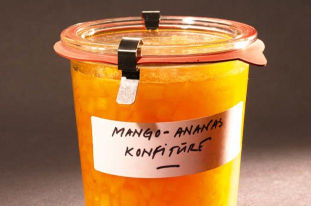 Mango-Ananas-Konfitüre - Annemarie Wildeisen's KOCHEN