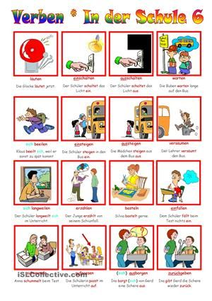 17 best schule images on Pinterest | Learn german, German language ...