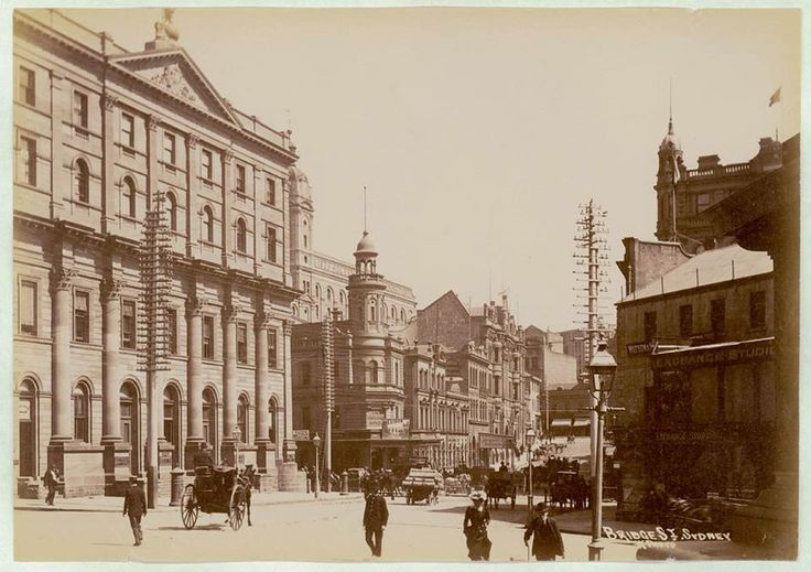 Bridge Street, Sydney [from Macquarie Place] ... ca. 1900-1910 ... Star Photo ... sl.nsw