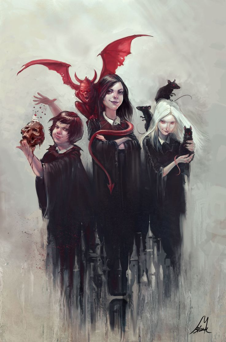 THE COVEN by Michael Blank for The School for Good and Evil by Soman Chainani