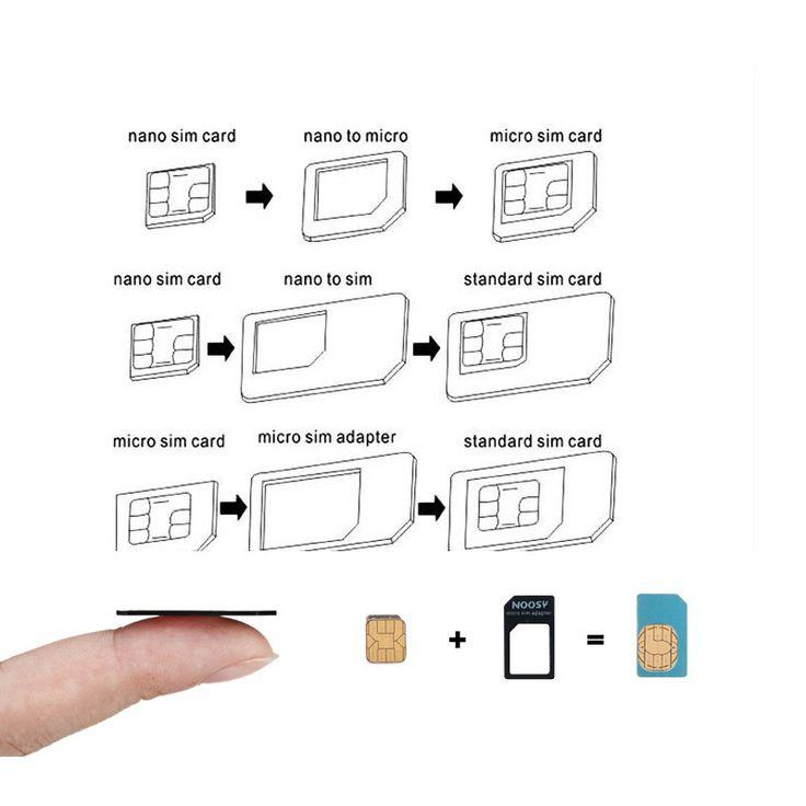 4 in 1 Nano SIM Card Adapter Micro SIM Card Adapter Standard SIM Card Adapter For Xiaomi mi5 M5 Smartphone With Eject Pin