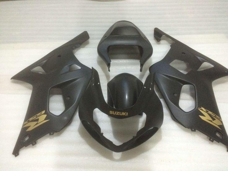 333.87$  Watch now - http://alim9f.worldwells.pw/go.php?t=32686397177 - Motorcycle Fairing kit for SUZUKI GSXR600 750 01 02 03 GSXR 600 GSXR750 K1 2003 2001 2002 Matte black Fairings set+7gifts PM54