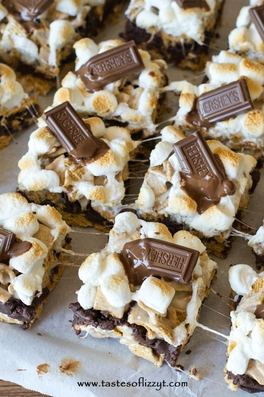 ... Mores Bar, Brownie Batter, Smores Brownies Bars, Gooey Bar, S More