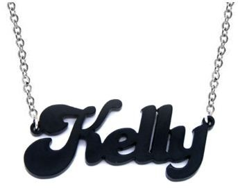 Black Acrylic Name Necklace (http://www.wordon.com.au/products/black-acrylic-name-necklace.html)
