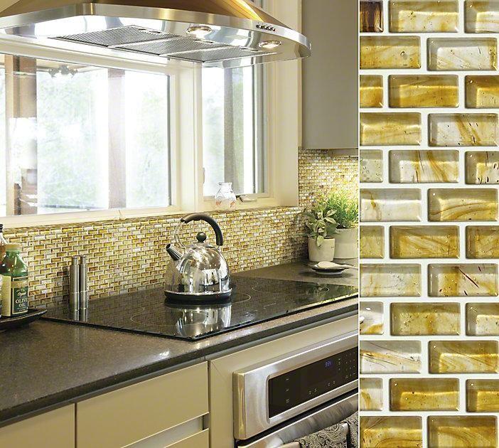 Kitchen Backsplash With Glass Tile Accents: 17 Best Images About Beautiful Backsplashes On Pinterest
