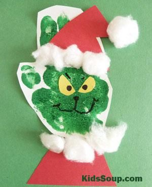 How the Grinch Stole Christmas! Story Time and Craft | KidsSoup