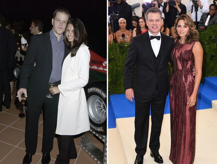 Matt and Luciana Damon - Together since 2005.