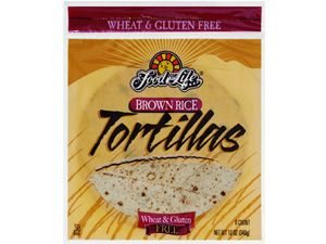 Brown rice tortillas, have to try them