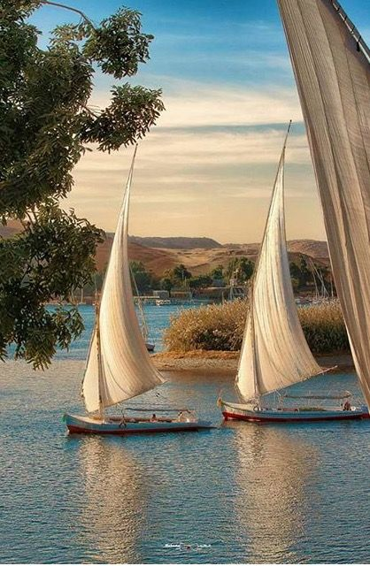 Travel far enough, you meet yourself.   Feel the Warm of the Nile