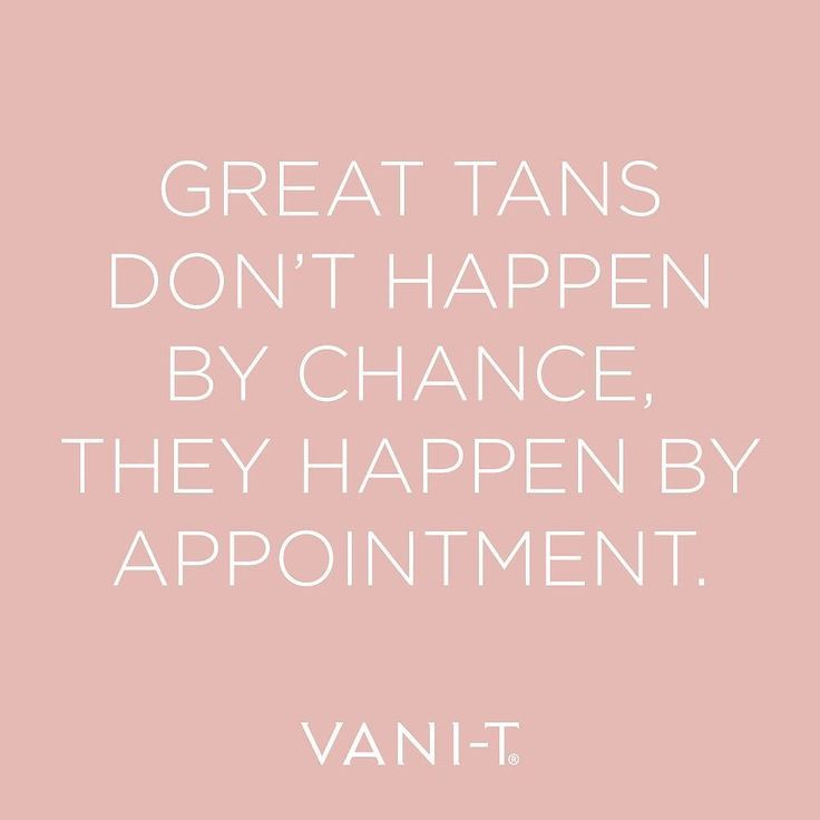 Have you booked your VANI-T Spray Tan appointment? #playitup #vanit