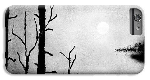On The Edge IPhone 7 Plus Case Printed with Fine Art spray painting image On The Edge by Nandor Molnar (When you visit the Shop, change the orientation, background color and image size as you wish)