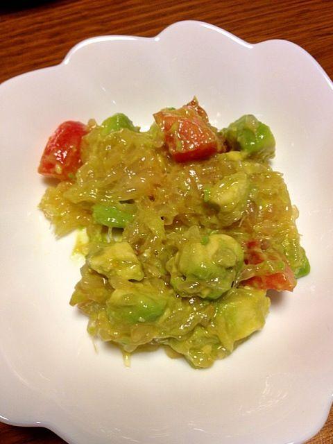 息子に和えてもらったら、くちゃくちゃに。。。ヽ(´o`; - 31件のもぐもぐ - アボカド、トマト、グレープフルーツのサラダ♪ by kamasann