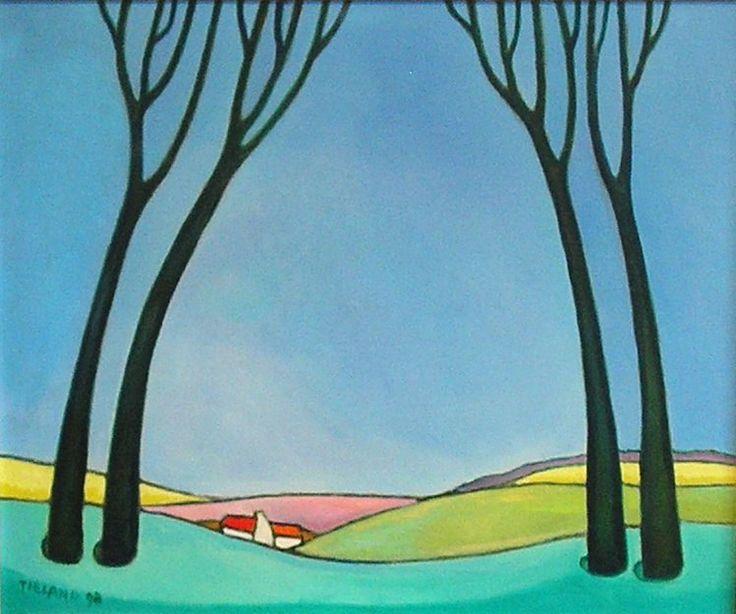 Toon Tieland schilderijen te koop