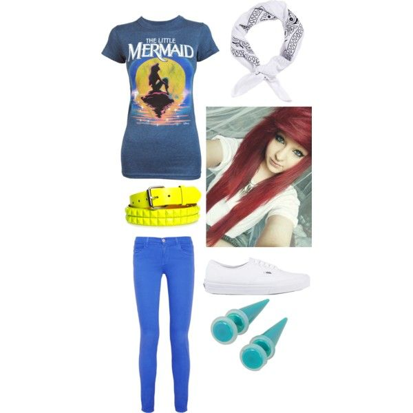 The Little Mermaid indie scene outfit