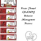 These pirate themed CHAMPS posters are great for any classroom that implements Randy Sprick's CHAMPS system of behavior management.   Just print, l...
