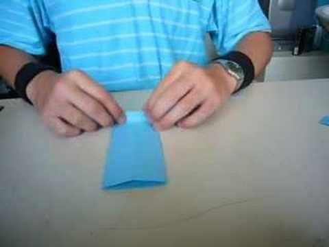 Hoe kun je een origami overhemd vouwen? - Instructies - Weethetsnel.nl