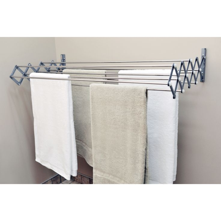 Extend the life of your clothing and linens with the Smart Dryer Expandable Drying Rack.