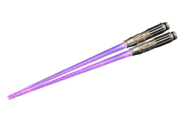 Star Wars Leucht-Essstäbchen Yoda Lichtschwert