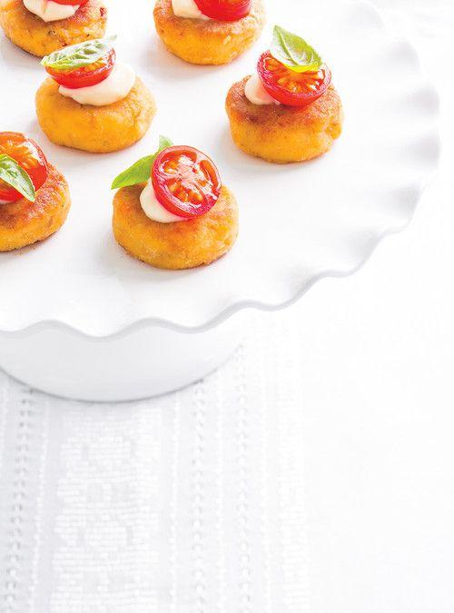 Bouchées de <i>crabcakes</i>