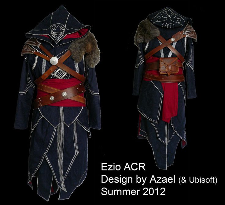 Here's my newest progress in my recreation of Altair's costume from Assassin's Creed: the kidney belt. The belt is made from three separate pieces of 7/8oz tooling leather, which was dyed and then ...