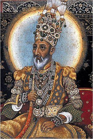 The last Mughal Emperor, Bahadur Shah II.