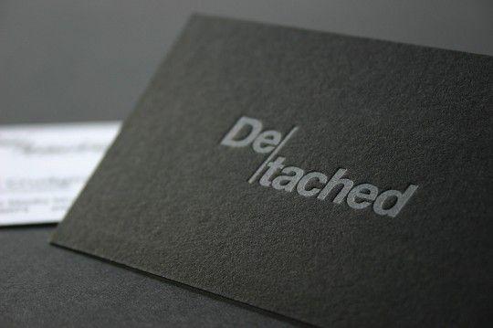 De-tached #print #design #graphic