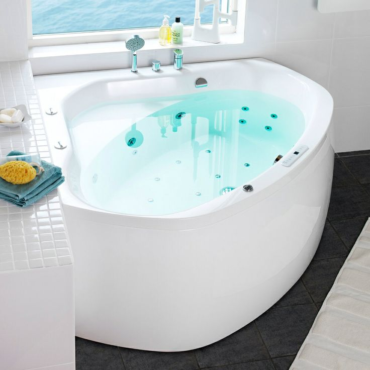 Wash Away Your Troubles. Take a Bath With Bubbles. #Boblebad http://handlebad.no/aqua-140-corner