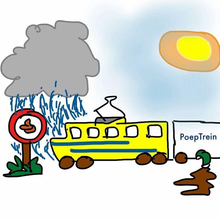 Treinen zijn vuil ... dankzij FNV