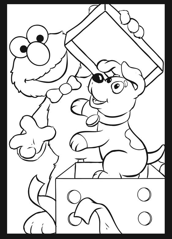 Sesame Street Birthday Party Stained Glass Coloring Book Dover Publications