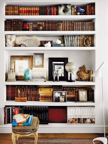 Librería de obra blanca