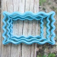 """Cookie cutter """"The plate №44"""" Set of 7, 9 and 11 cm"""