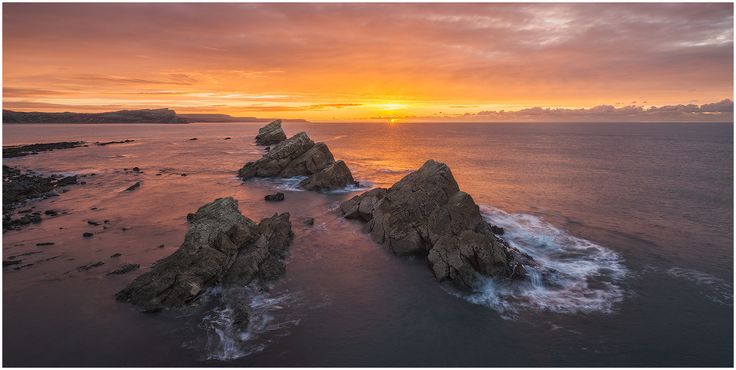 sunrise at mupe bay by Mirek Galagus on 500px