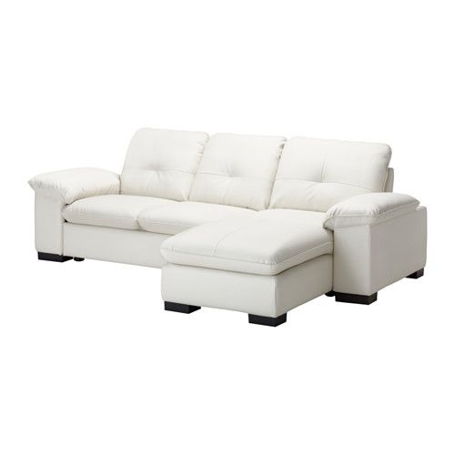 DAGSTORP Loveseat and chaise lounge IKEA Seat cushions filled with high resilience foam and polyester fiber wadding provides great seating comfort.