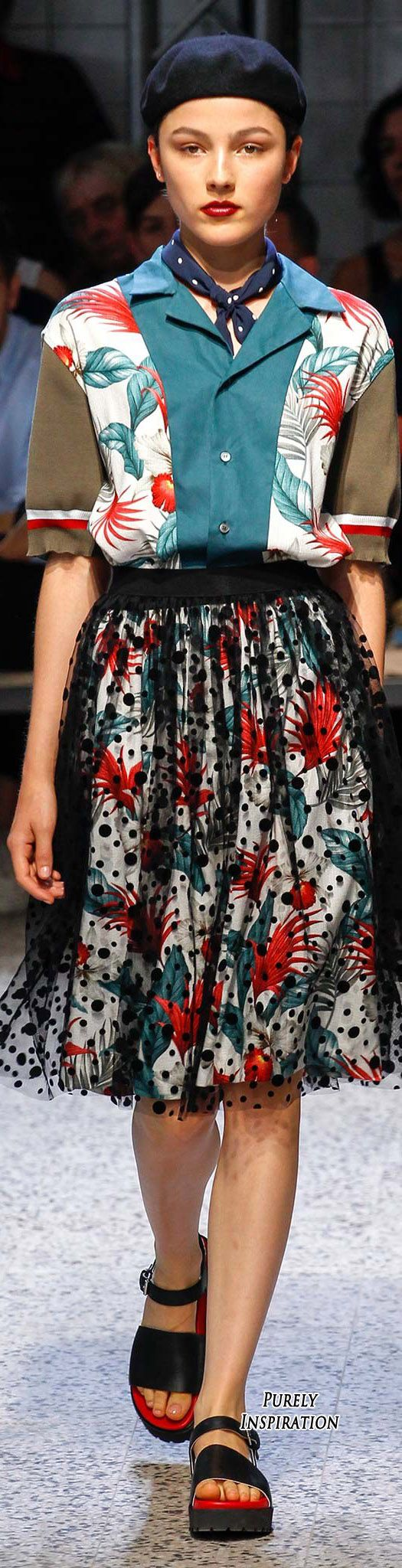 Antonio Marras SS2016 Women's Fashion RTW | Purely Inspiration