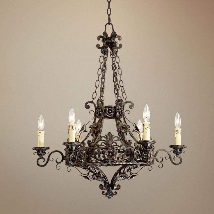 Old World Dining Room Chandeliers: 17 Best Ideas About Iron Chandeliers On Pinterest