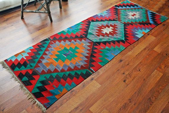 FREE SHIPPING Turkish kilim .Anatolian - Rug Carpet.- handwoven kilim rug - antique kilim rug - decorative kilim - natural wool