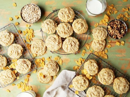 This wonderful recipe was in circulation when I was a kid in the 70s. Years later, a woman brought a tray of these to the office, which I instantly recognized as THOSE COOKIES FROM MY CHILDHOOD, and she refused to give me the recipe (said it was her babysitters secret recipe)! I searched online (tried several recipes) and asked my friends and family off and on if theyd heard of it, for 10 years. I finally JUST found this online! They are SO GOOD! Bake them for your friends and family and…