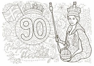 http://www.bkgfactory.com/category/Queen-Sheets/ The Queen's 90th Birthday
