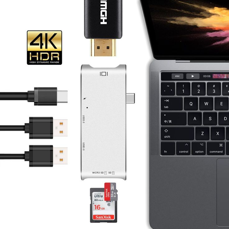 Cheap price US $12.99  GOOJODOQ USB C Hub Type C Hub HDMI Adapter 4K Dock Dongle SD slot Micro SD Card Reader USB-C PD For MacBook Pro thunderbolt 3  #GOOJODOQ #Type #HDMI #Adapter #Dock #Dongle #slot #Micro #Card #Reader #USBC #MacBook #thunderbolt  #OnlineShop