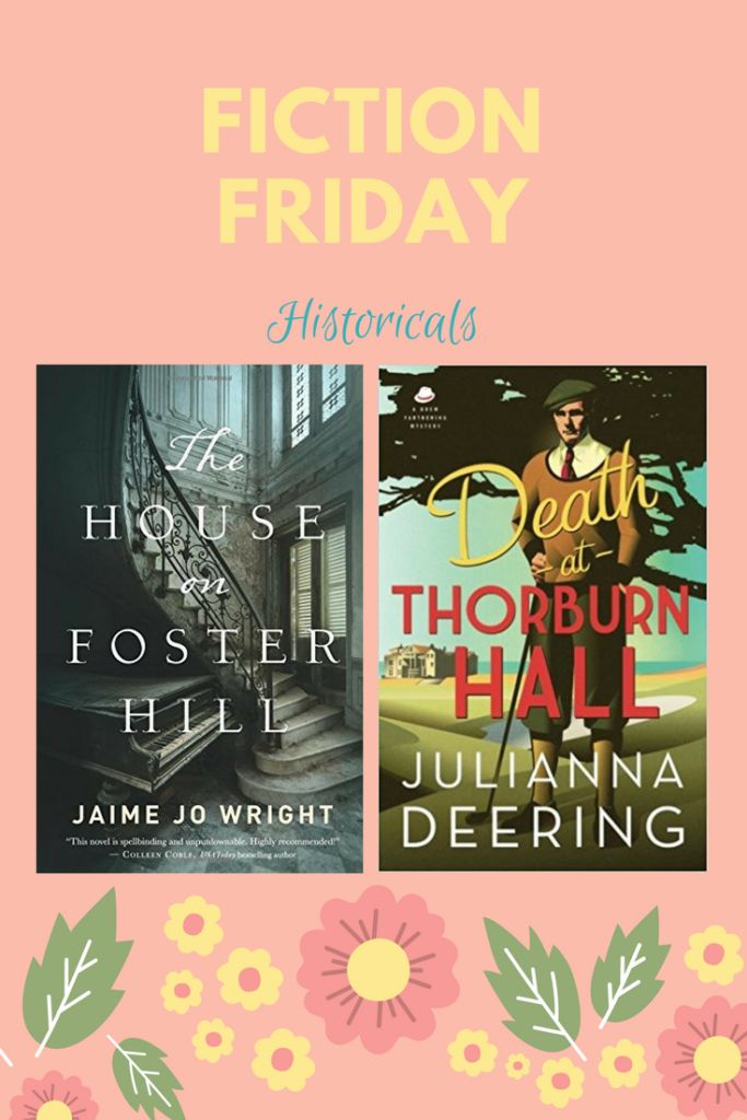 Fiction Friday historicals and a giveaway! | caraputman.com