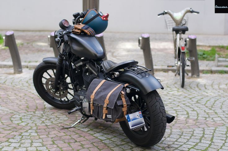 Test besace sacoche Louis Moto