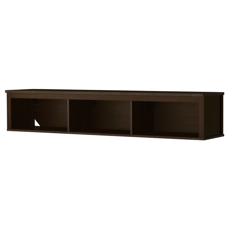 SEKTION High cabinet w pull out organizers, brown, Grimslöv medium brown The long, Shelves and