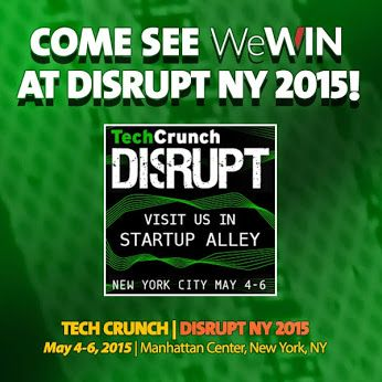 Heading to @TechCrunch #DisruptNYC meet up there & come see us in #StartUpAlley May 4-5 Manhattan Center