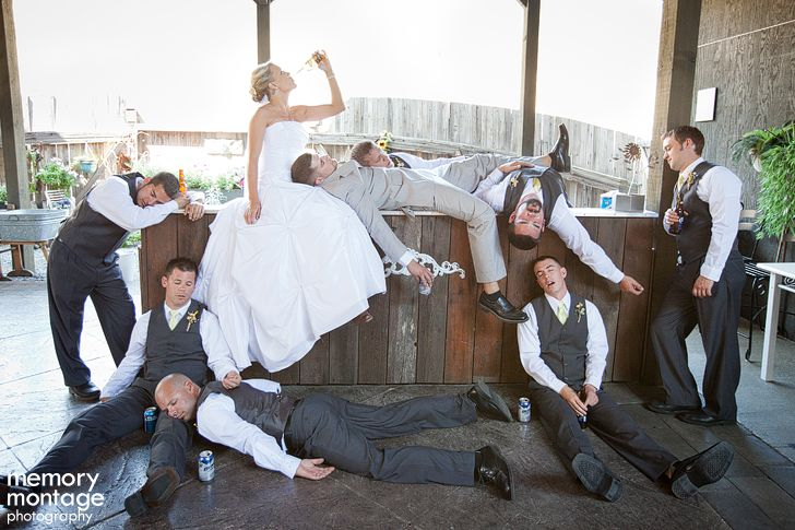 So funny! Wish i would have thought of that for wedding pics.