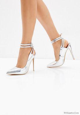 ajuste clásico nuevo concepto comprar real Zapatos de Fiesta Plateados | Zapatos de moda en 2019 ...