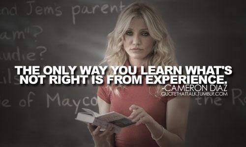 Bad Teacher, book, Cameron Diaz