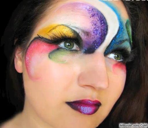 maquillaje de fantasia paso a paso
