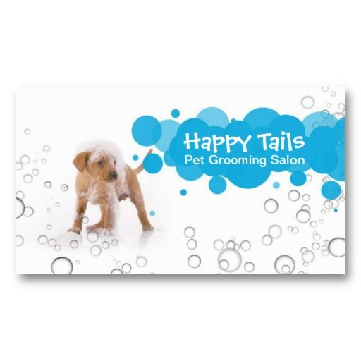 Dog Grooming Client Cards