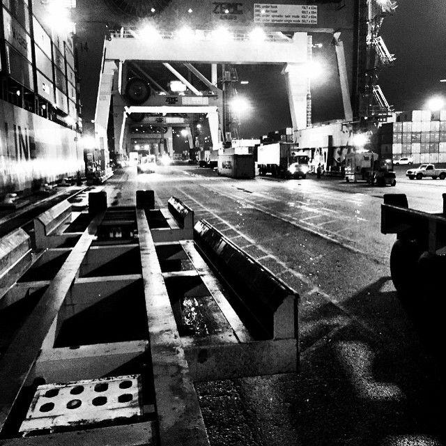 Port Elizabeth Docks by night. | www.savisas.com | #southafrica #docks #pe #portelizabeth